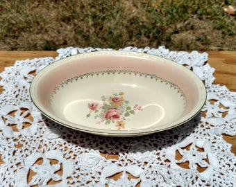 Homer Laughlin Georgian Marilyn Pink Vegetable Bowl