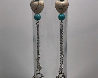 Dog earrings, animal earrings, pet earrings, novelty earrings, dog jewelry, doggy earrings, dog lover gifts, dangle earrings
