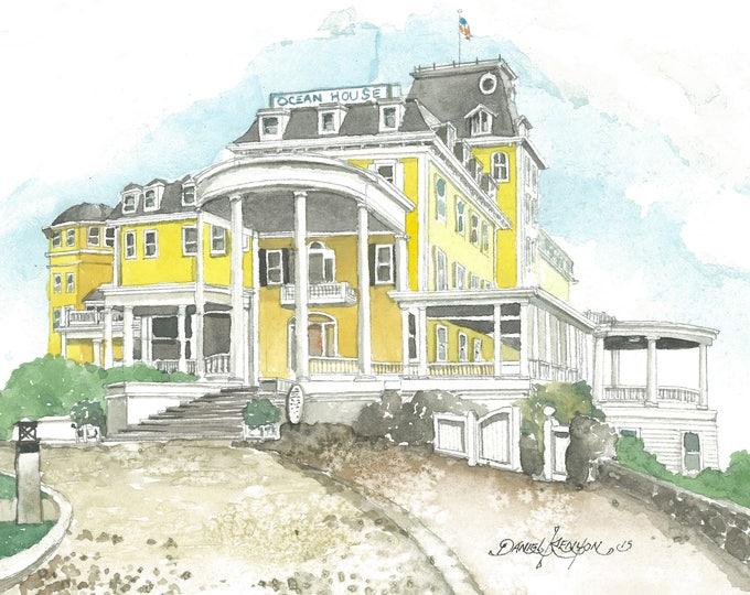 The Ocean House - Ocean Drive