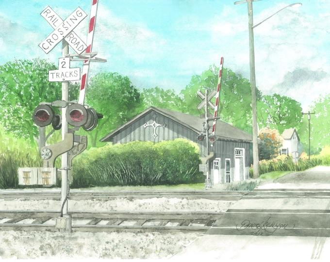 West Mystic Train Station