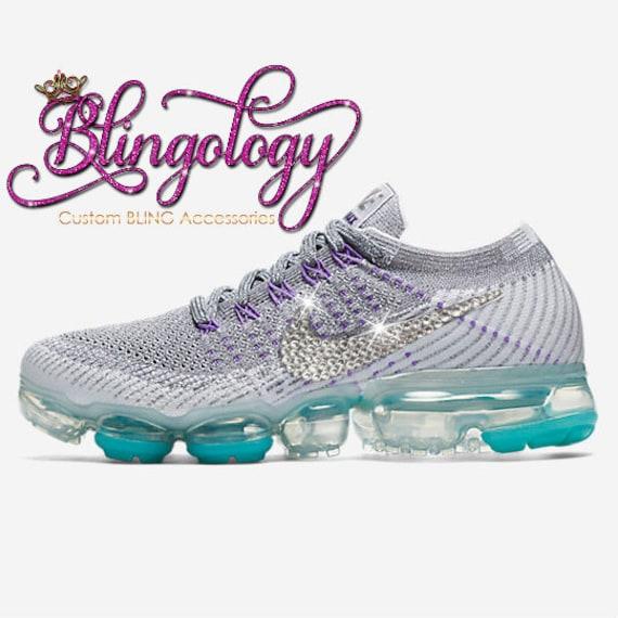 Womens Nike Air VaporMax Flyknit Cool Grey Platinum White  3e5409811294