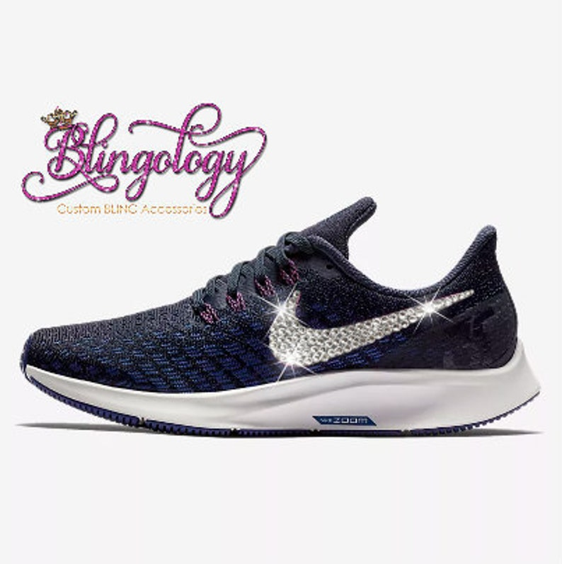 2bc95923b5e91 Womens Nike Air Zoom Pegasus 35 Obsidian Royal Blue White