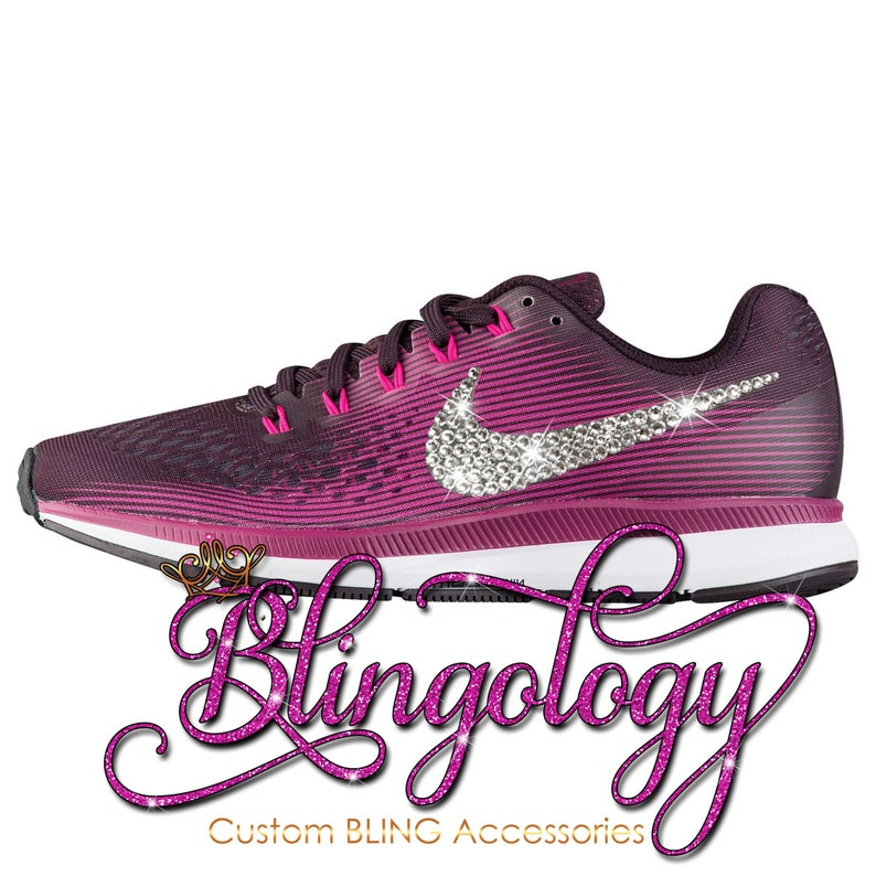 Womens Nike Air Zoom Pegasus 34 Port Wine Black Berry Pink  bc3b2d7188