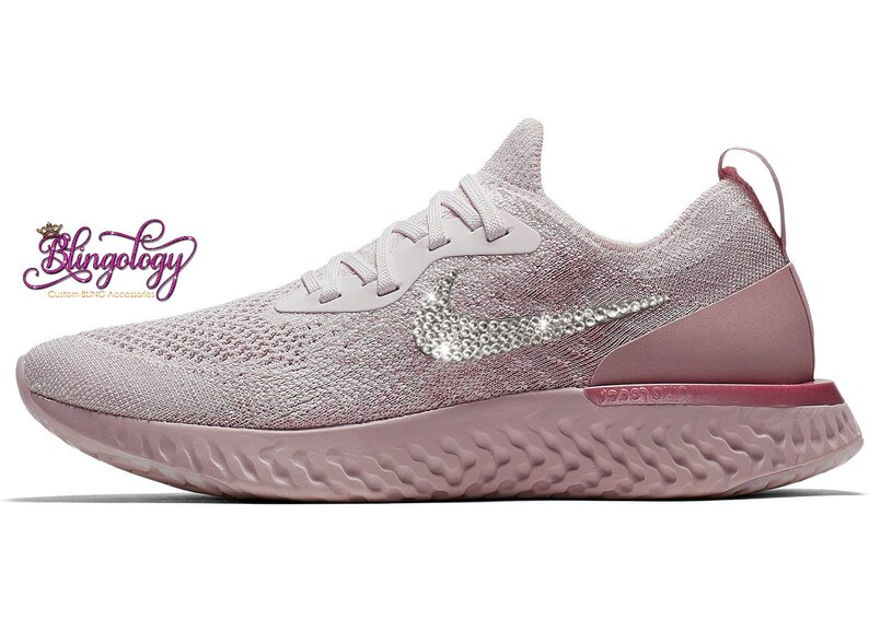 740743142b1a Womens Nike Epic React Flyknit Pearl Pink Pearl Pink Barely