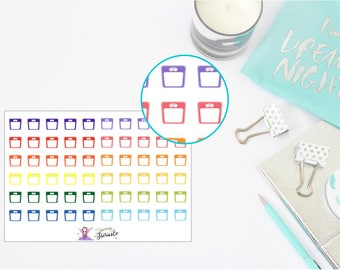 Weighing Scales sticker sheet