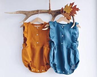 0c1230d2b6f7 Linen baby clothes