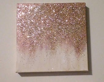 Gold Glitter Paint Bruin Blog