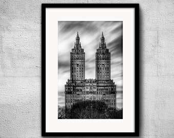 The San Remo Limited Edition 2/50 - New York Photography, Black and White, Architecture, NYC, Fine Art Print, Urban Art, Home Decor