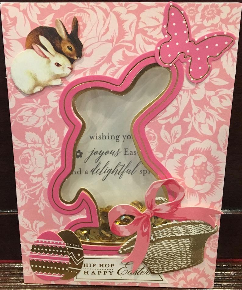 Angel Diva 3 Dimensional Easter Greeting Card