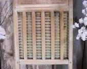 Vintage National 430 Washboard repurpose. reuse. farmhouse