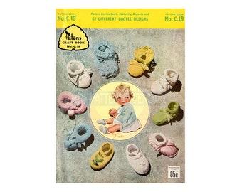 Pdf Vintage Patons Baby Patterns Etsy