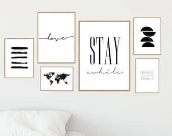 Set of 6 prints | Etsy