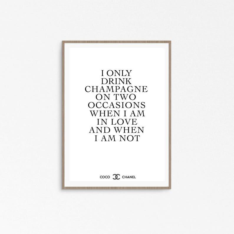 Chanel Zitate Englisch Zitat Geburtstag Coco Chanel