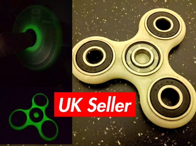 Fidget Spinner Toy Different Colors Available Including Glow