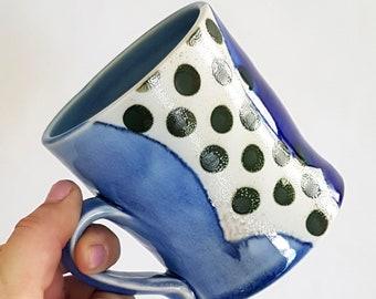 Green Dot Mug A