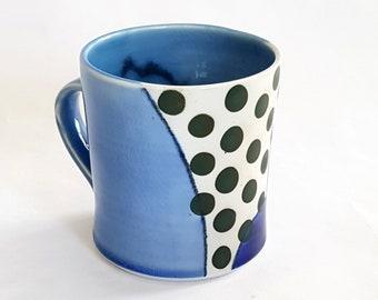 Green Dot Mug B
