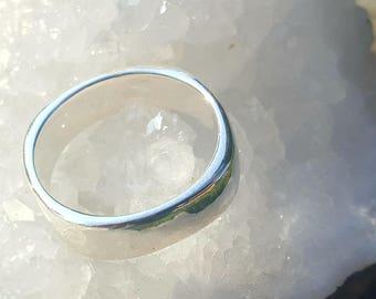 Silver Ring, timeless design, handmade