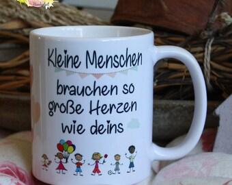 Ernährung Emaillebecher Kaffeetasse Tasse Spruch Im Herzen Barfuß Campingtasse Eb242 Baby