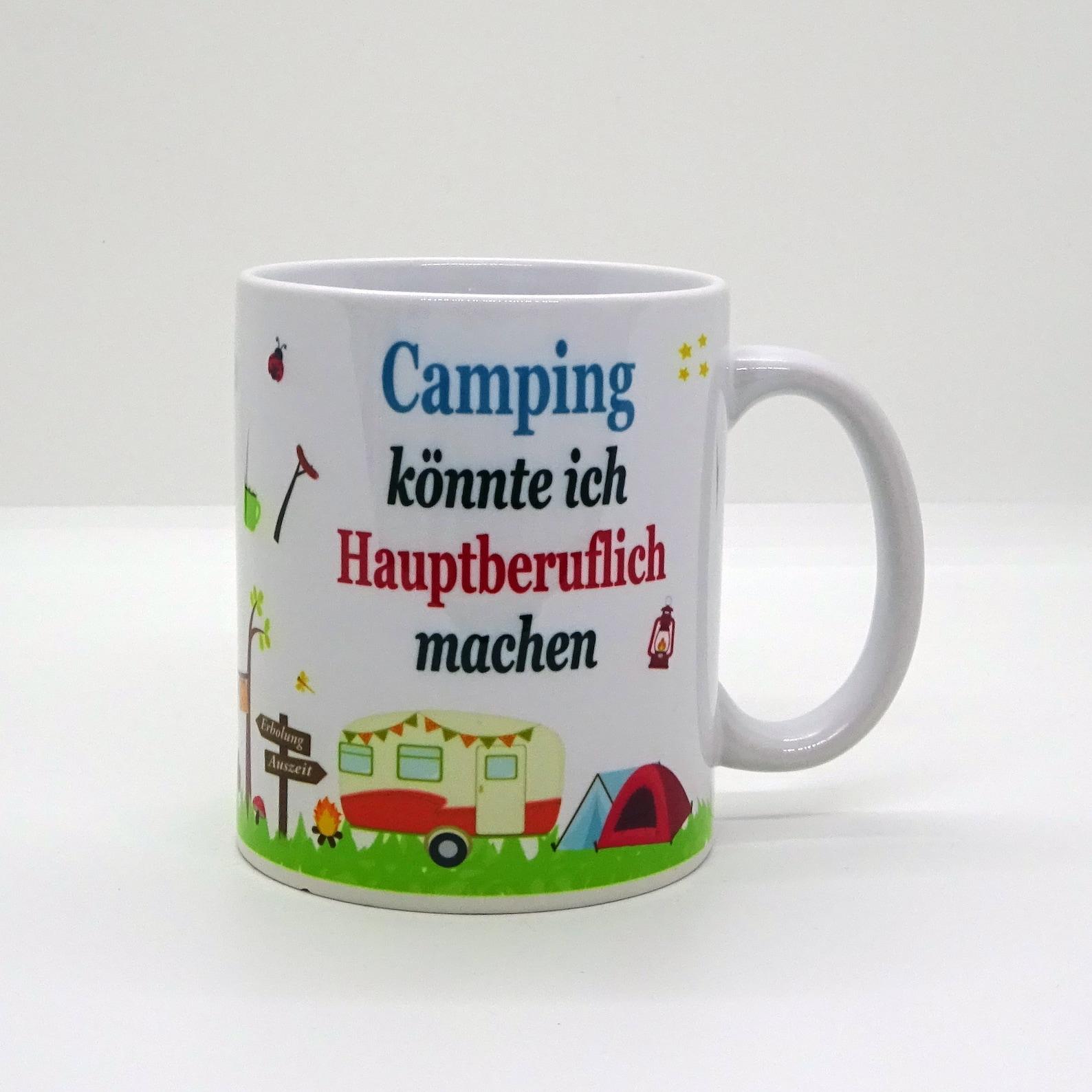 Tasse / Camping könnte ich Hauptberuflich machen | Etsy