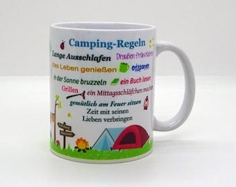 Cup / Camping Rules (caravan)
