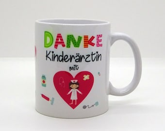 Cup / Pediatrician with heart