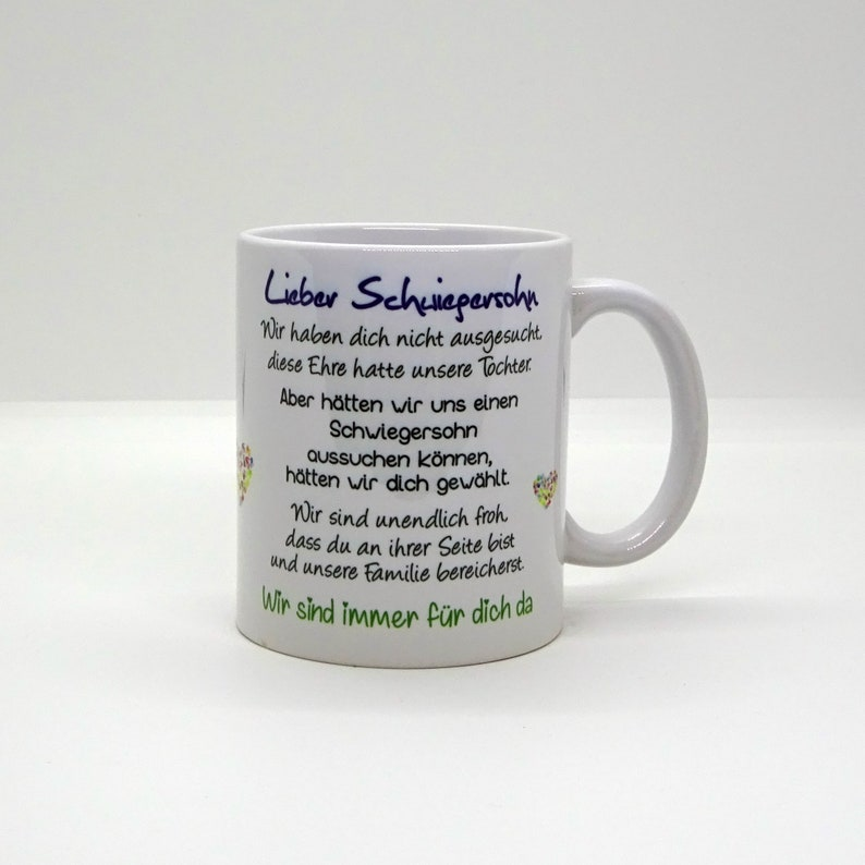 Cup / Dear son-in-law we image 0