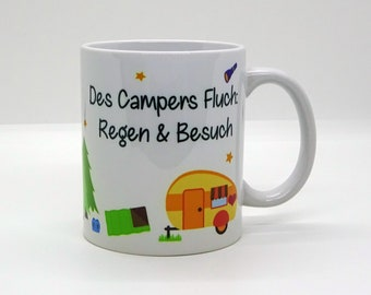 Cup / The Campers Curse - Rain and Visit