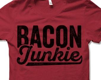 0d249b8d540 Funny Bacon T-shirt. Bacon Lover Shirts.
