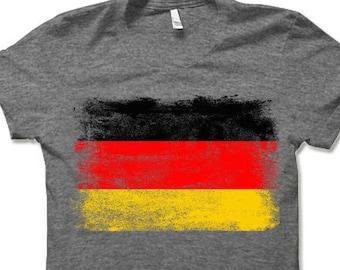 216ac1d1e1 German Flag T Shirt   Flag of Germany T Shirt Gift