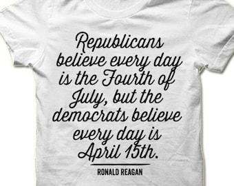 The Best Social Program Is A Job Reagan Quote Conservative Supply Men/'s T-Shirt