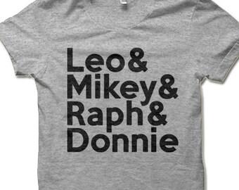 b14d78425eca7c Adult TMNT T Shirt. Teenage Mutant Ninja Turtles Shirt for Adult Nerds.