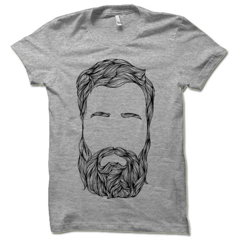 4a8b495b014ee0 Bart-T-Shirt. Hipster Lumbersexual Beardman Shirt.