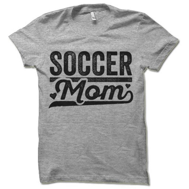 c5a7ea529 Soccer Mom Shirt. Funny T-shirt for Mom. Soccer Game Shirt.   Etsy