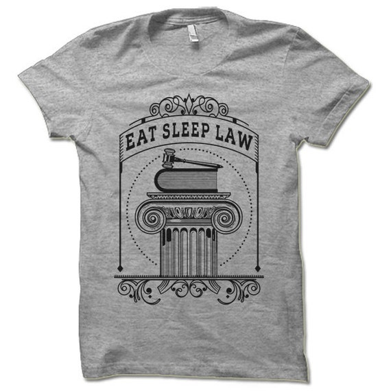 essen sie schlaf recht t shirt coole anwalt shirt law etsy. Black Bedroom Furniture Sets. Home Design Ideas