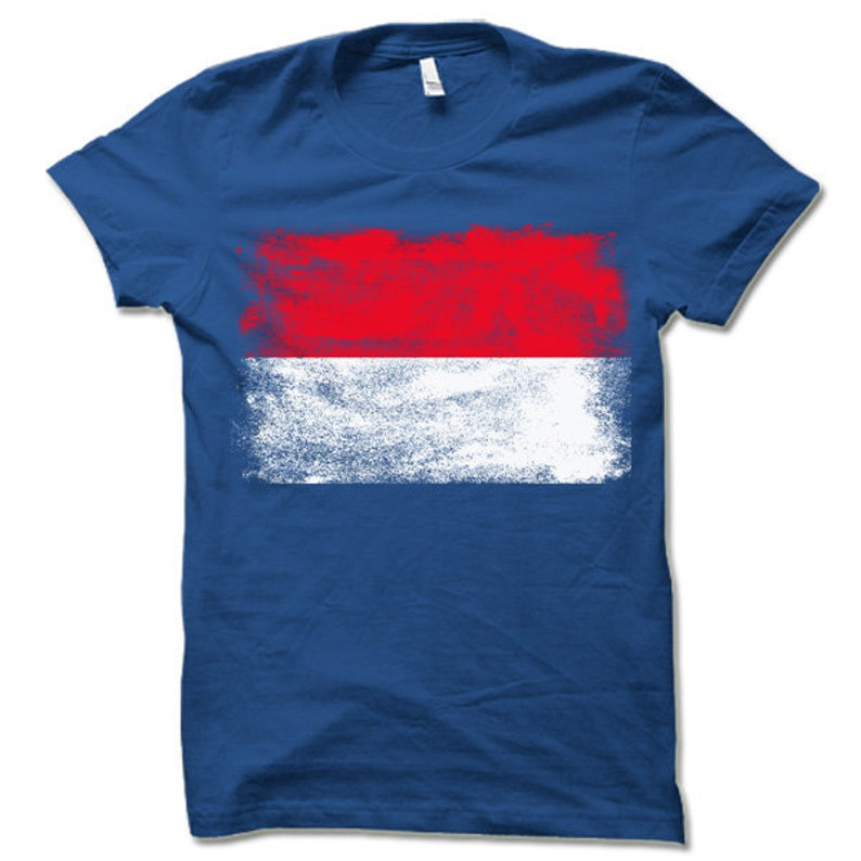 Indonesia Flag Shirt Indonesian Flag T Shirt Gift