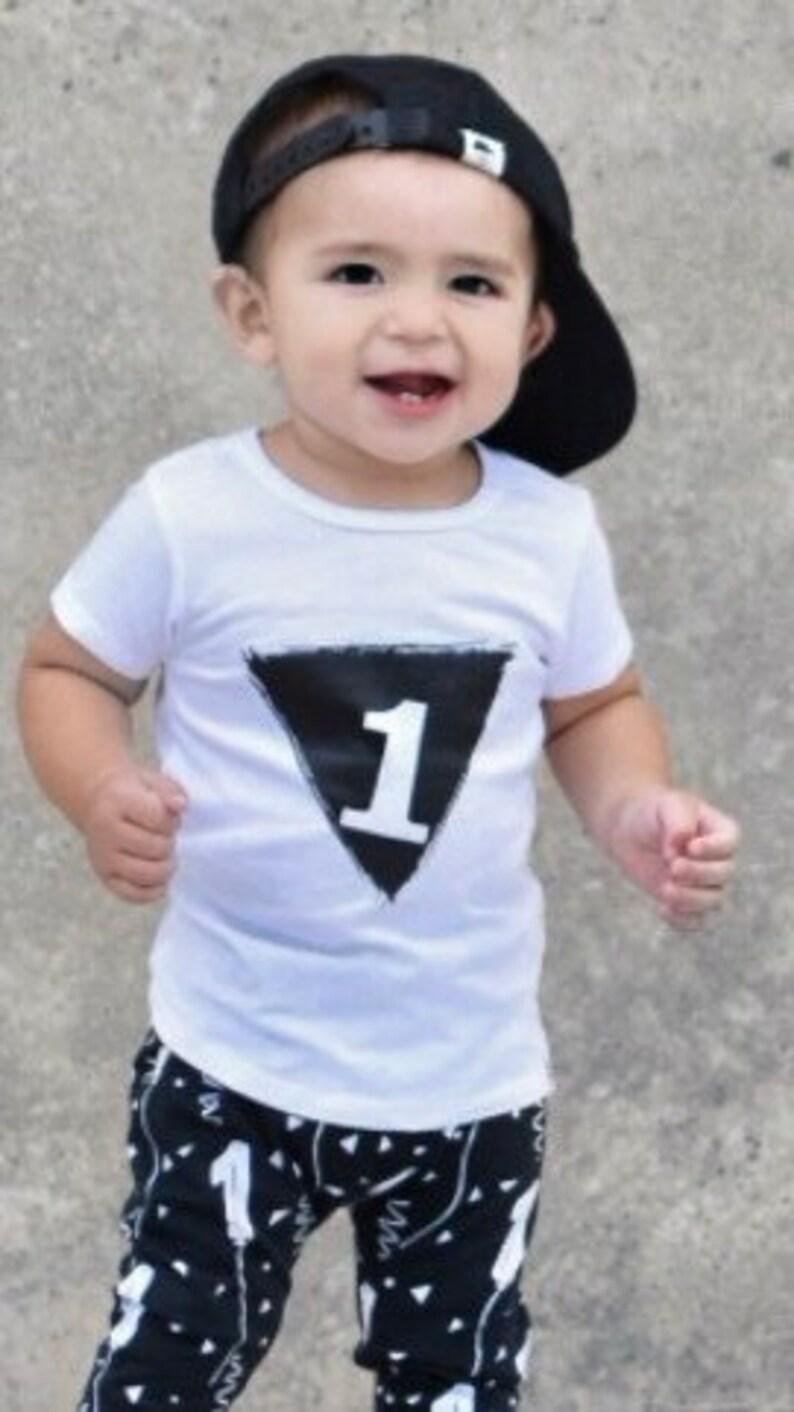 1st Birthday Shirt First Boy