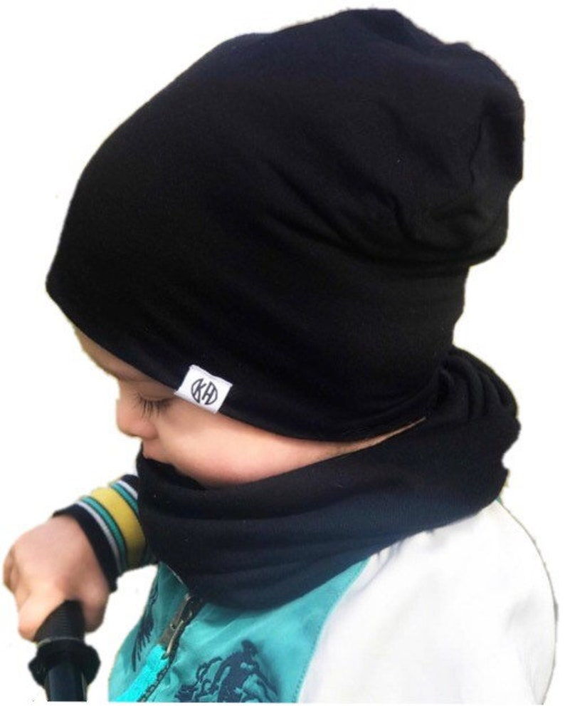 799aedb7ee4 Black beanie  Baby slouchy beanie  baby boy beanie  hipster