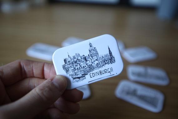 Edinburgh Skyline Magnet