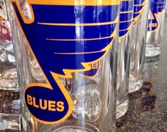 St. Louis Blues Glass Mug
