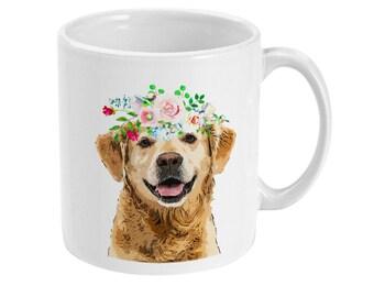 Golden Retriever Mug 11 oz - Gift for Retriever Lover