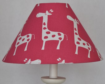 Latest Collection Of Giraffe Zoo Animal Electric Nursery Lamp With Shade Pink Lamps & Shades Nursery Décor