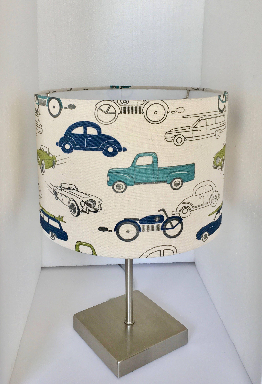 Vintage retro rides felix blue lamp shade transportation lampshade gallery photo gallery photo aloadofball Choice Image