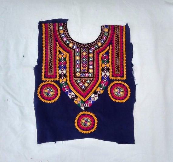 Ethnic Banjara Neck Yoke By Beautiful Crafted With Hand Etsy