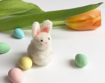 Needle Felted Bunny Rabbit Miniature