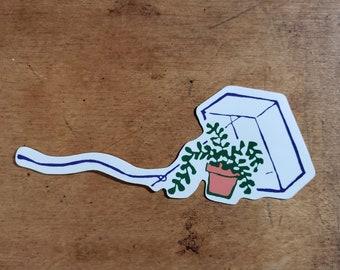 Plant Bait Sticker