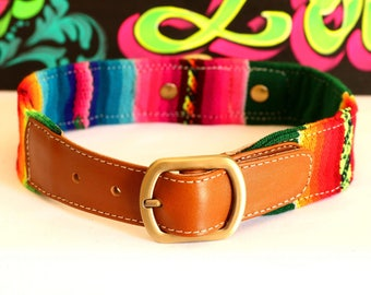 Dog collar, Inca collar, large dog collar, small dog collar, ethnic collar, folk, puppy collar