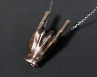 Devil Horns Pendant
