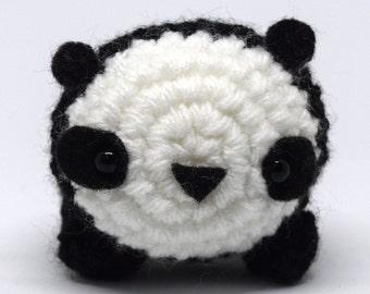 Cute Crochet Panda Amigurumi Plush