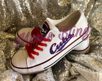 70462cbf154 Chicago Cubs Custom Shoes