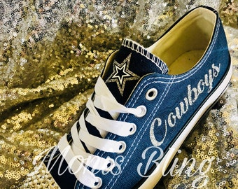 3b339daa0 Dallas Cowboys custom woman s shoes